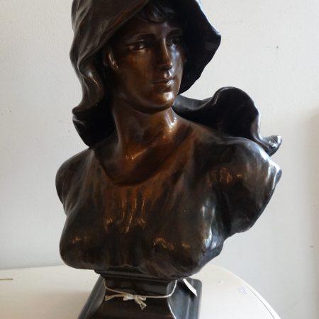 borstbeeld dame