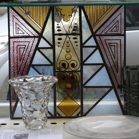 gebrandschilderd glas in lood