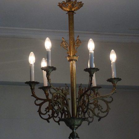 bronzen lamp
