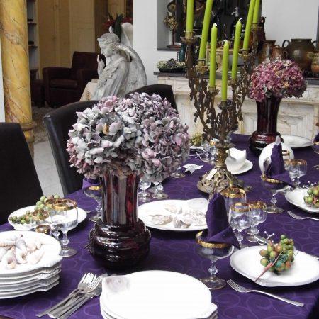 feestelijk gedekte tafel wooninspiratie