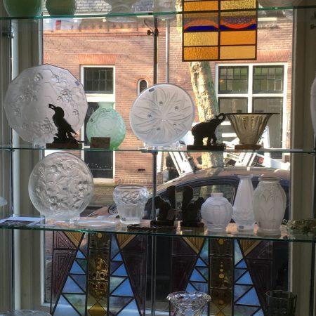 verzameling glaswerk