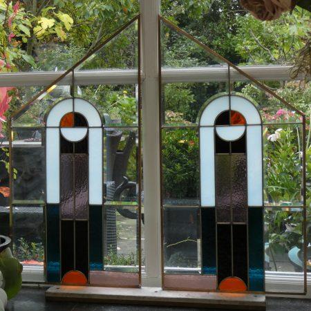 Art Deco Glas in Lood