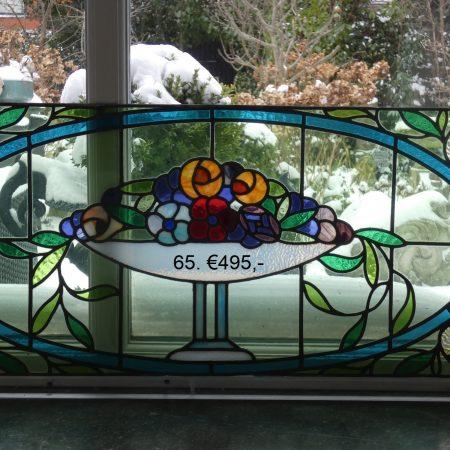 Art nouveau glas in lood