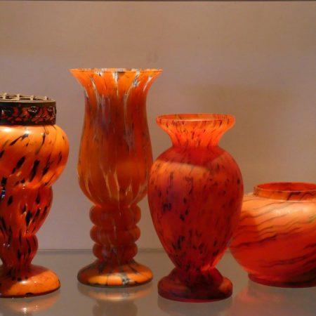 art nouveau glaswerk