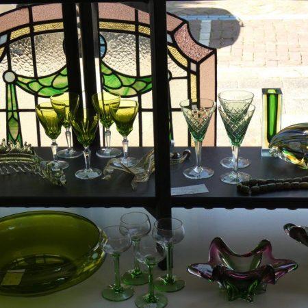 groen glaswerk